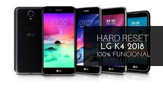 HARD RESET LG K4, K10, K8 (2017-2018) 100% FUNCIONAL!