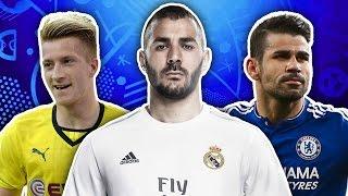 Players Not Going To EURO 2016 XI   Reus, Benzema & Costa!