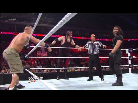 All Copyrights To WWE! I Don't Own Any Content Of The Video! Download Link For The Match- http://goo.gl/pBwaC John Cena & Team Hell No vs The Shield Raw 13/5/2013 Things Gets Heat Up ...