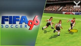FIFA Soccer 96 (1995) PlayStation - Germany Vs Czech Republic