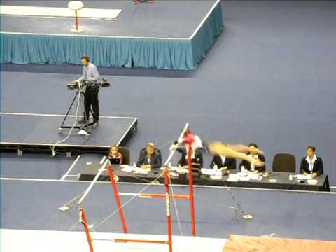 Beth Tweddle - NEW ROUTINE - July 2011 (British Championships)