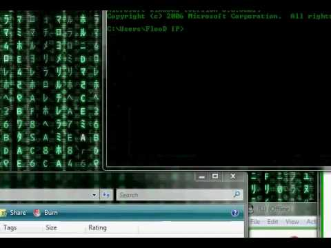 YouTube - Hack camfrog nickname with cmd 2009.flv