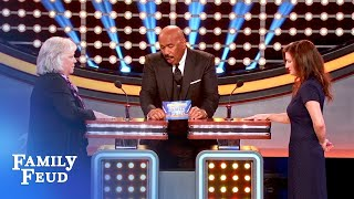 Can Team Lipinski close it out? | Celebrity Family Feud