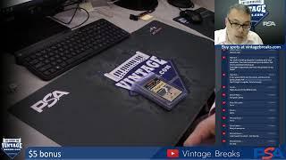 Vintage Breaks Live Stream 7-18-2019