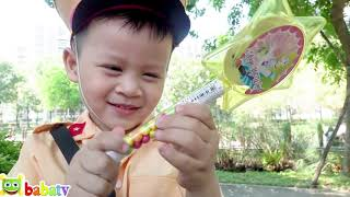 Su Hao Kids Pretend Play Police with unboxing Paw Patrol Toys