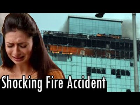 Shocking Fire Accident On Yeh Hai Mohabbatein - 21st July 2014 video
