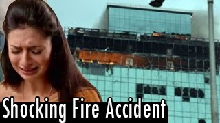 SHOCKING FIRE ACCIDENT on Yeh Hai Mohabbatein - 21st July 2014