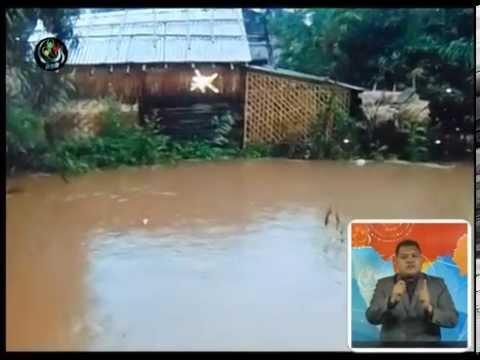 DVB - ေရႏုတ္ေျမာင္းပိတ္ အိမ္ေဆာက္လို႔ မိုးရြာတိုင္း ေရၾကီးေန