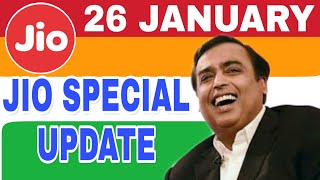 Jio phone special update :offer 26 JANUARY