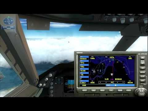 FSX 747-400 Monsoon ILS Approach (Mission)