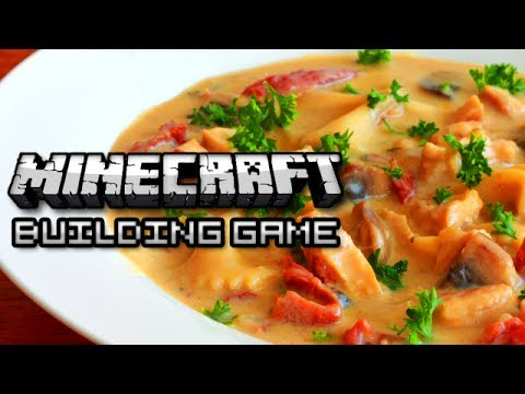 Minecraft: Building Game - FOOD EDITION!