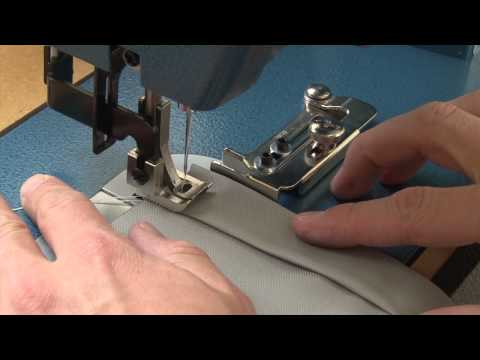 Swing Gauge Sewing Fence Demo
