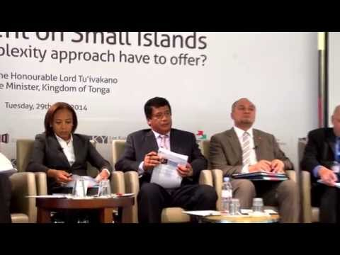 LKYSPP-UNDP Conference: What should the 3rd UN Conference on SIDS consider on complexity?