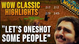 WoW Classic Highlights Part 5 - World of Warcraft Vanilla Best Moments