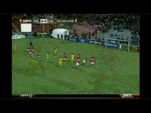 Toluca vs. Columbus Crew 3-2 Concachampions 2010 1/4 de final vuelta {17-03-10} HQ Video
