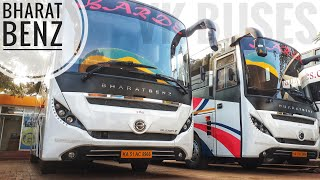 BRAND NEW BHARAT BENZ GLIDER Z BUS INTERIOR AND ENGINE!!!