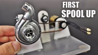 Micro Supercharger First Bench Test   Part 3