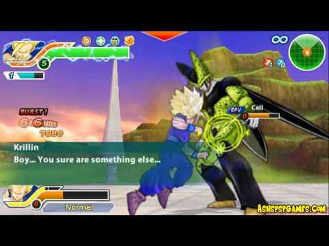Dbzttt - Psp - #23-0. Gohan Explodes - Defeat Cell [2 2] video