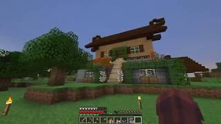 Przygody w Minecraft 1.13.1 #6 Domek skończony oto efekty