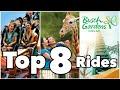 Top 8 Busch Gardens Rides | Tampa, FL