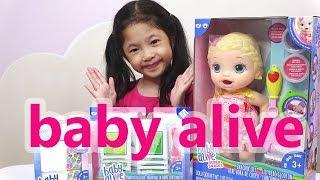 Búp Bê Tương Tác Baby Alive, Baby Alive Tập Ăn Play-Doh Và Ăn Bột