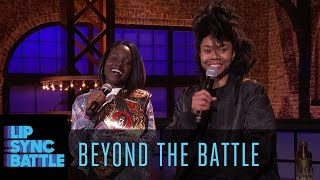 Beyond the Battle with Lupita Nyong'o and Regina Hall | Lip Sync Battle
