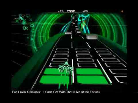 I Can't Get With That (Live at the Forum) - Fun Lovin' Criminals - Audiosurf