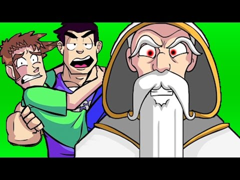 Tobuscus Animated Adventures: Wizards Cut Scene #1 video