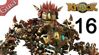 Knack Walkthrough parte 16 Español PS4