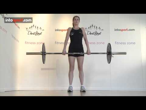 Barbell Upright Row Image 1