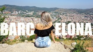 BEST CITY IN SPAIN! | Barcelona Travel Vlog - 26 Day Europe Trip Ep.4