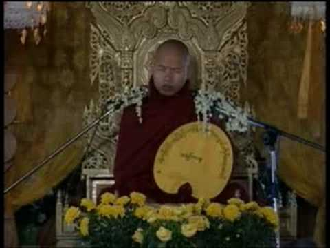 #3 Sayadaw Ashin Zawana In Myanmar Part 3 video