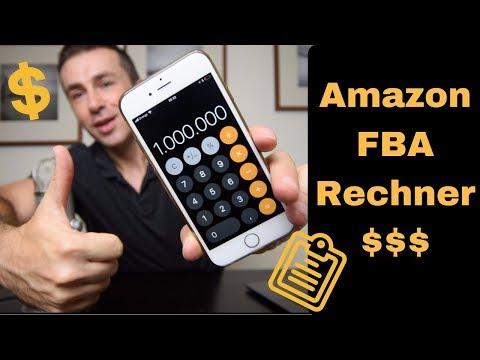 Amazon FBA Calculator Kosten Rechner, Amazon Preiskalkulation ohne Excel