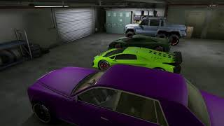 GTA V | FRANKLIN'S CAR COLLECTIONS AND GARAGE | GAMEPLAY |