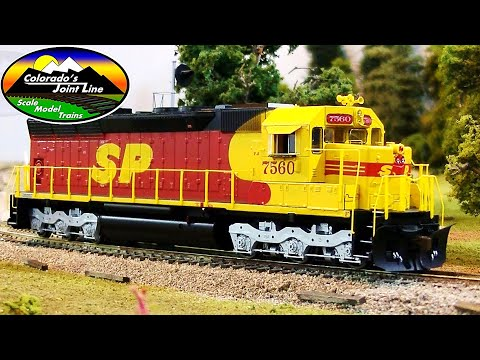 Model Railroading Review: Athearn RTR SD45 Southern Pacific Kodachrome 7560