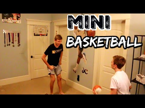 EPIC MINI BASKETBALL GAME 2!