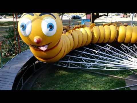 En el Gusano -parque de diversiones - Parque Independencia -Rosario