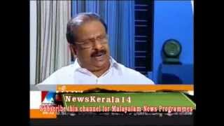 K Sudhakaran Interview on kannur Issue P1.Manorama News