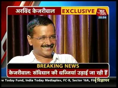 Special interview with AAP chief Arvind Kejriwal