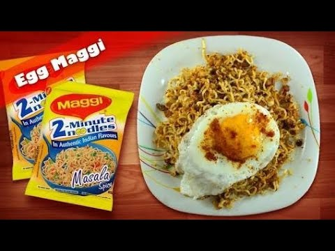 Egg Maggi by Richie Rich