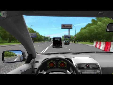 [City Car Driving 1.5.2] Toyota Corolla - Управляй мечтой/Logitech G27