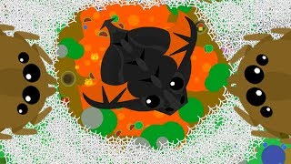 MASSIVE LAVA SPIDER WEB NEST ft La Flame // Eagle Spider Web Troll (Mope.io Funny Moments)