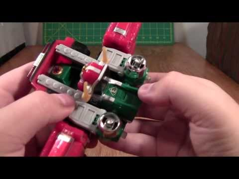 Power Rangers Lightspeed Rescue Megazord Review