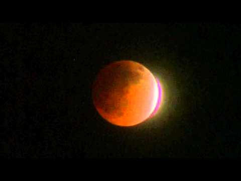 Lunar Eclipse / Blood Moon April 14, 2014