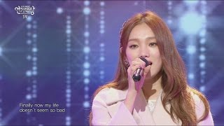 [2015 MBC  Drama Acting Awards] Lee Sung Kyung the opening stage,