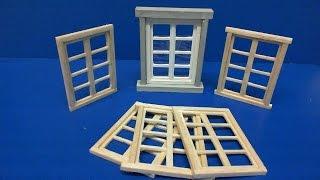 making Windows in 1/35 scale (I video 17)