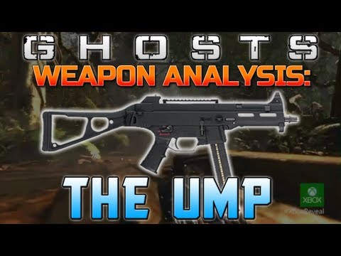 Call of Duty: Ghosts - Weapon Guide/Analysis - The UMP! (Ghosts Trailer Guns)
