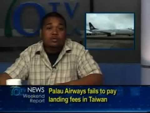 Palau Airways Fails To Pay Landing Fees In Taiwan