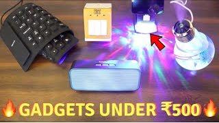 Unique Gadgets Under Rs500 | Part 19 | Tech Unboxing 🔥