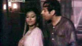Sexy Shabnam and Nadeem in rain song